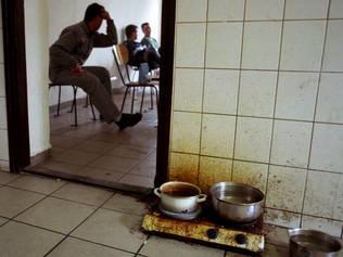 Ungarisches Gefängnis (Quelle UNHCR)